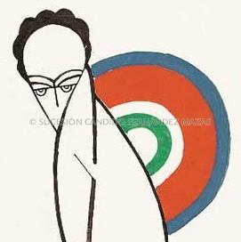 Cándido Fernández Mazas. dessins Paris. 1925-1927